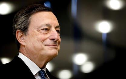 """Draghi: """"La crisi economica dell'Eurozona è alle spalle"""""""