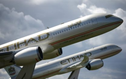 Etihad Airways include tampone gratuito nei biglietti aerei