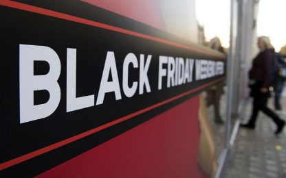 Black Friday, in Italia acquisti online per 800 milioni di euro