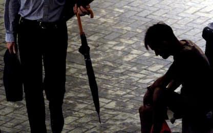 Oxfam: aumentano disuguaglianze, in Italia l'1% è ricco come il 70%