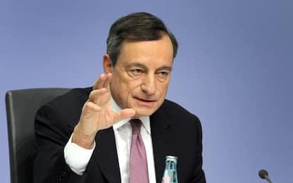 """Draghi: """"Diversi membri Consiglio Bce preoccupati per politiche Usa"""""""