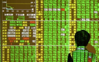 Borse asiatiche a picco dopo crollo Wall Street, anche Milano in rosso