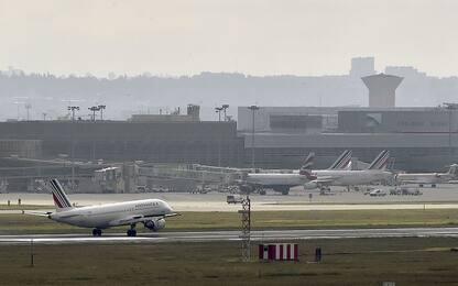 Sciopero Air France, cancellato 50% dei voli a lungo raggio da Parigi