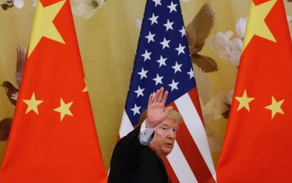"""Dazi, l'annuncio di Trump: """"Il 15 gennaio firmo l'accordo con la Cina"""""""