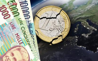 """""""Euro sì, euro no. La parola agli italiani"""", lo speciale di Sky TG24"""