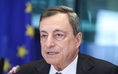"""Draghi sui conti pubblici: """"Vediamo i fatti prima di giudicare"""""""