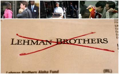 Il fallimento di Lehman Brothers: le immagini simbolo. FOTO