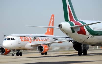 Coronavirus, compagnie aeree low cost cancellano voli da e per Italia