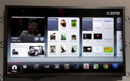 Smart tv, problemi di privacy: dati sensibili a rischio