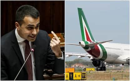 """Alitalia, Di Maio ai sindacati: """"Quota statale anche oltre il 50%"""""""