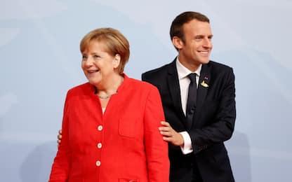 """Accordo Francia-Germania su eurobudget: """"Fondi solo a chi fa riforme"""""""