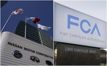 """Ft:""""Renault punta alla fusione con Nissan, poi all'acquisto di Fca"""""""
