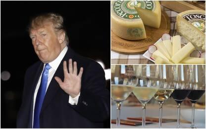 Trump: altri dazi contro l'Ue, nel mirino anche Pecorino e Prosecco