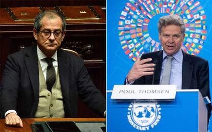 """Fmi: """"Riserve su riforme tasse Italia"""". Tria: """"Non siamo un rischio"""""""