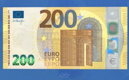 Arrivano le banconote da 100 e 200 euro: si possono lavare e stirare