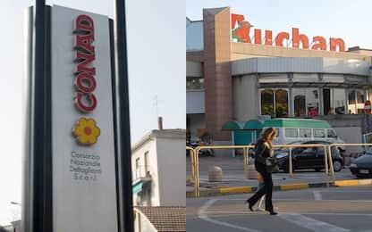 Auchan, Conad: nessun licenziamento collettivo per tutto il 2020