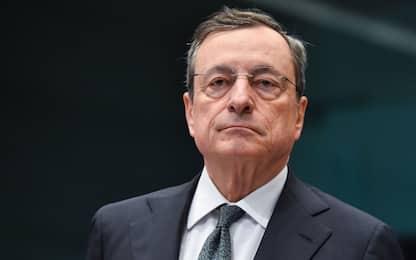 """Europa, Draghi: """"Indispensabile un'unione fiscale della zona Euro"""""""