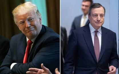 Tassi Ue, Trump risponde a Draghi: competizione ingiusta con Usa