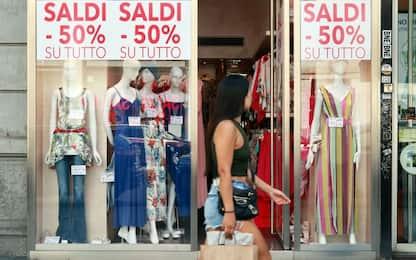 Saldi estivi 2020, nel Lazio si riparte il primo agosto