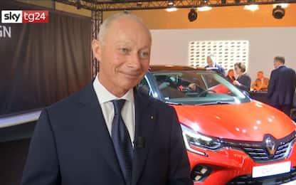 """Salone Auto, Bolloré : """"Fusione Fca-Renault non più sul tavolo"""". VIDEO"""