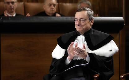 Università Cattolica, a Mario Draghi Laurea honoris causa. VIDEO