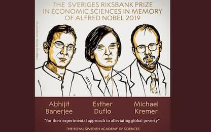 Il premio Nobel per l'Economia a Banerjee, Duflo e Kremer