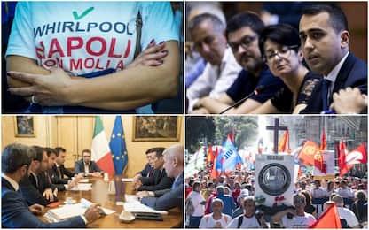 Whirlpool, tutte le tappe della chiusura dello stabilimento di Napoli