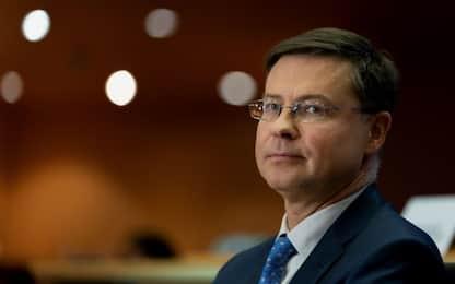 """Manovra, Dombrovskis: """"Chiederemo chiarimenti all'Italia"""""""