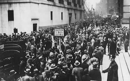 Wall Street, 90 anni fa il Giovedì nero