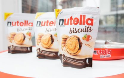 Nutella, venduti 57 milioni di biscotti in tre settimane