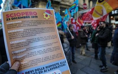 Conad, lavoratori Auchan in sciopero: corteo a Milano. VIDEO