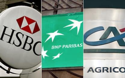 La classifica delle prime 15 banche in Europa. FOTO