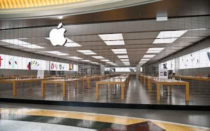 Coronavirus, Apple chiude i negozi fuori dalla Cina fino al 27 marzo