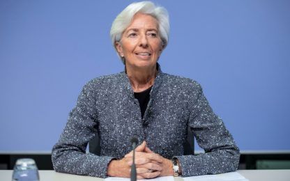 """Coronavirus, Lagarde: """"Pronti ad alzare Qe e a valutare ogni opzione"""""""