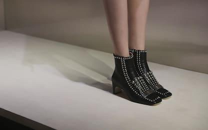 Le scarpe iconiche del maestro Sergio Rossi. FOTO
