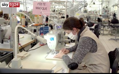 Coronavirus, i laboratori di Louis Vuitton producono mascherine. VIDEO