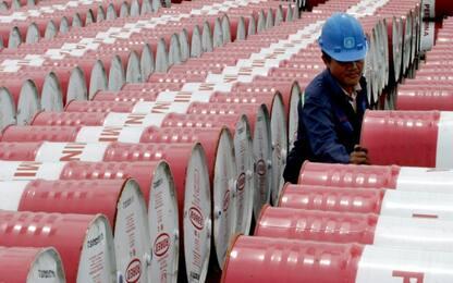 Petrolio, crollo storico Wti: chiude in calo del 305% a -37,63 dollari