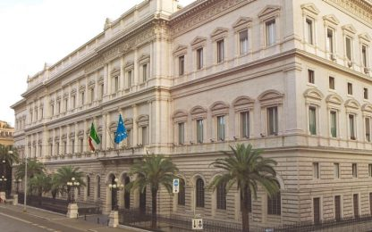 Coronavirus, Bankitalia: crescita rischi contagio in settore bancario