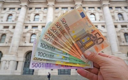 Eurostat: a dicembre inflazione in aumento in area euro