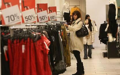 Saldi, Codacons: nessuna corsa all'acquisto, è una partenza 'debole'