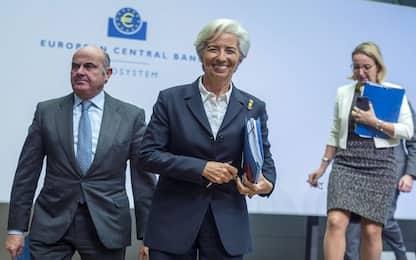 Bce, crescita Eurozona resta moderata