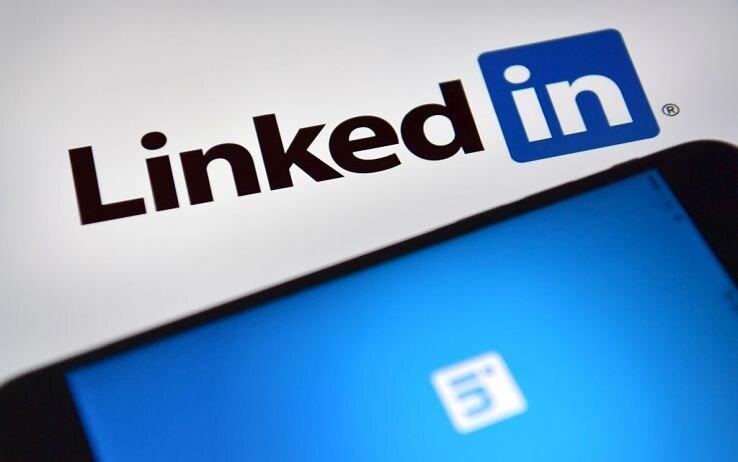 Il logo di LinkedIn
