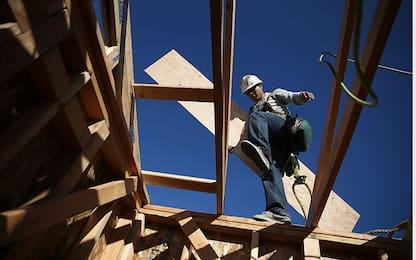 Istat: a gennaio produzione costruzioni +4,8% su anno