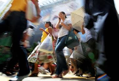 Istat: a marzo crolla fiducia consumatori e imprese