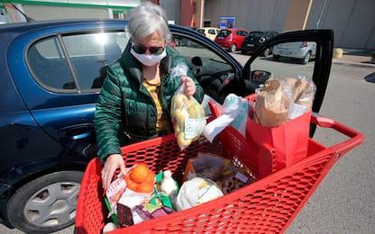 Coronavirus: Istat, boom vendite alimentari in Gdo