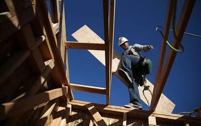 Costruzioni, a febbraio battuta d'arresto produzione, -3,4% su mese