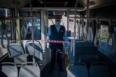 Coronavirus, Inail-Iss: riorganizzare il sistema  di trasporto pubblico terrestre