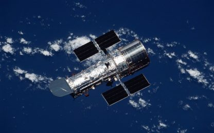 Hubble potrebbe aver catturato un buco nero di massa intermedia