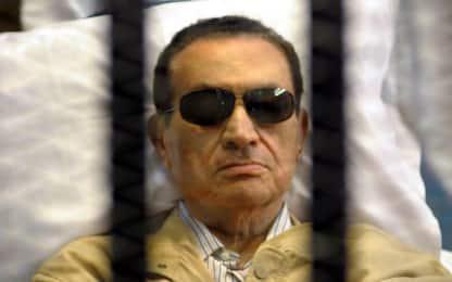Egitto, procura ordina la scarcerazione di Hosni Mubarak