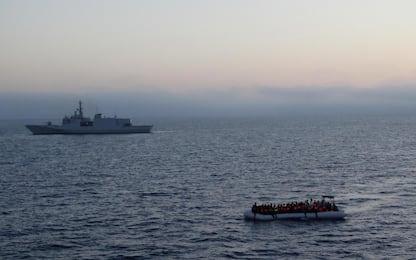 Secondo barcone con a bordo 70 migranti intercettato a Lampedusa